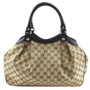 Sukey Hobo Gg Guccissima Classic Tote Shoulder Bag